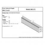 B612-51 Loading Dock Bumper