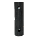 E-D18 Extruded Wall Guard, Extruded Dock Bumper