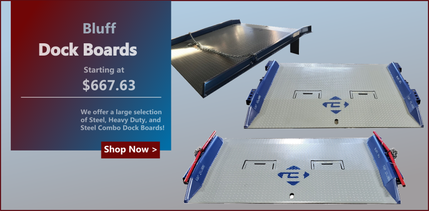 Bluff Loading Dock Boards