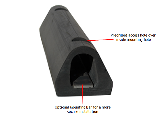 Extruded Dock bumper Features