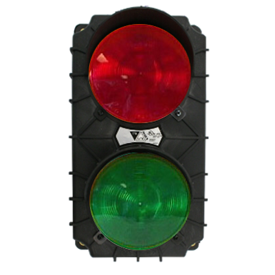 Incandescent Stop and Go Traffic Light SG10B-INC