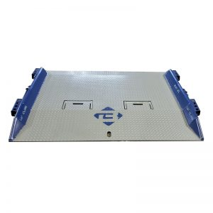 T Series Steel Loading Dock Board Front