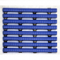 Heronrib Roll 3/8″ x 4' X 33' Blue